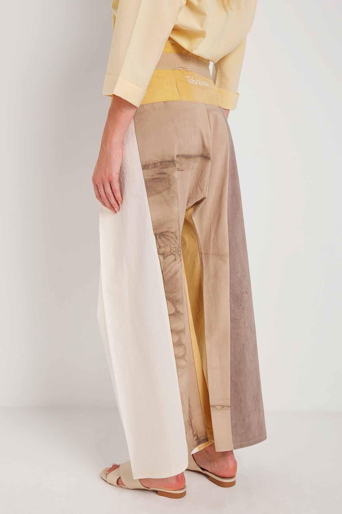 Ahenk - Yoga Pantolonu - Hat Nakışlı U24135