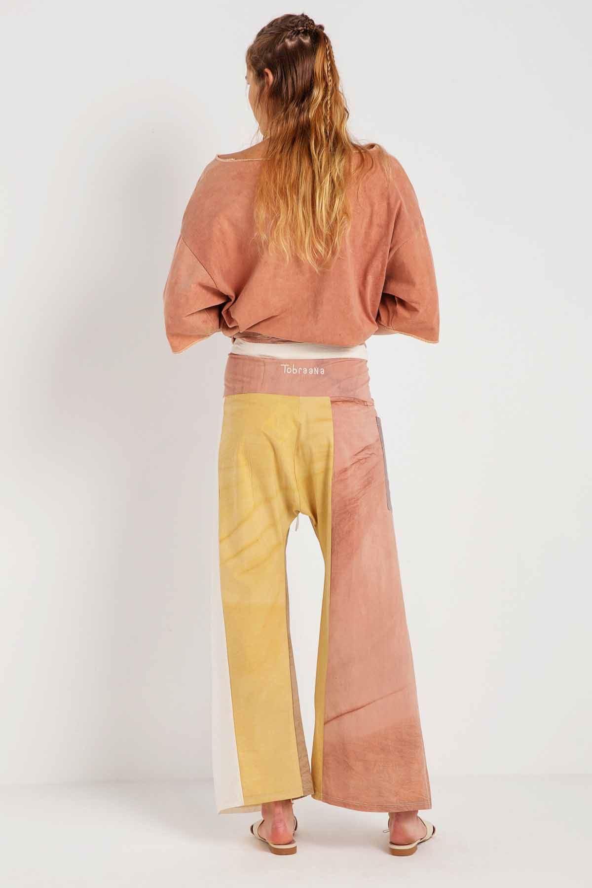 Ahenk - Yoga Pantolonu - Hat Nakışlı U24134