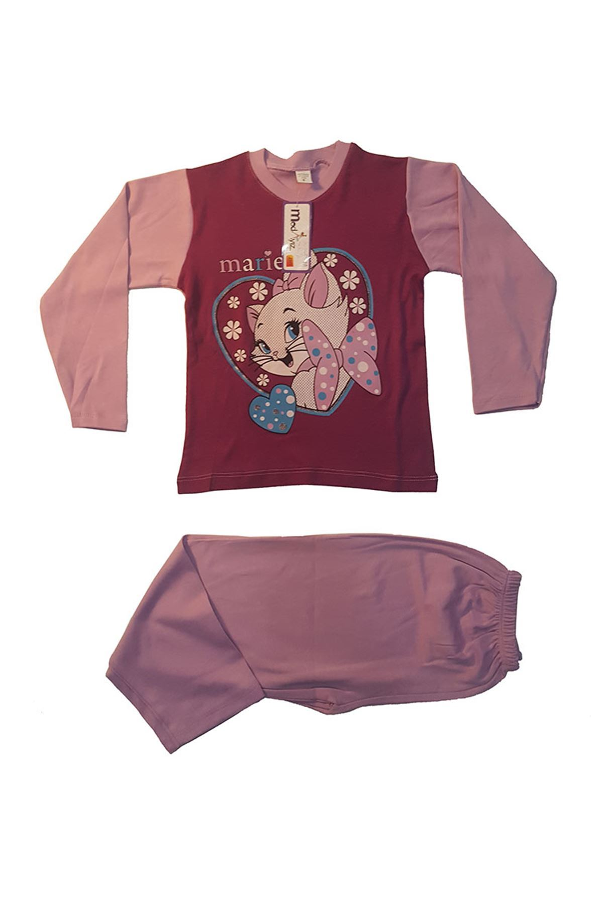Baskılı Pijama Takımı 11B-153421