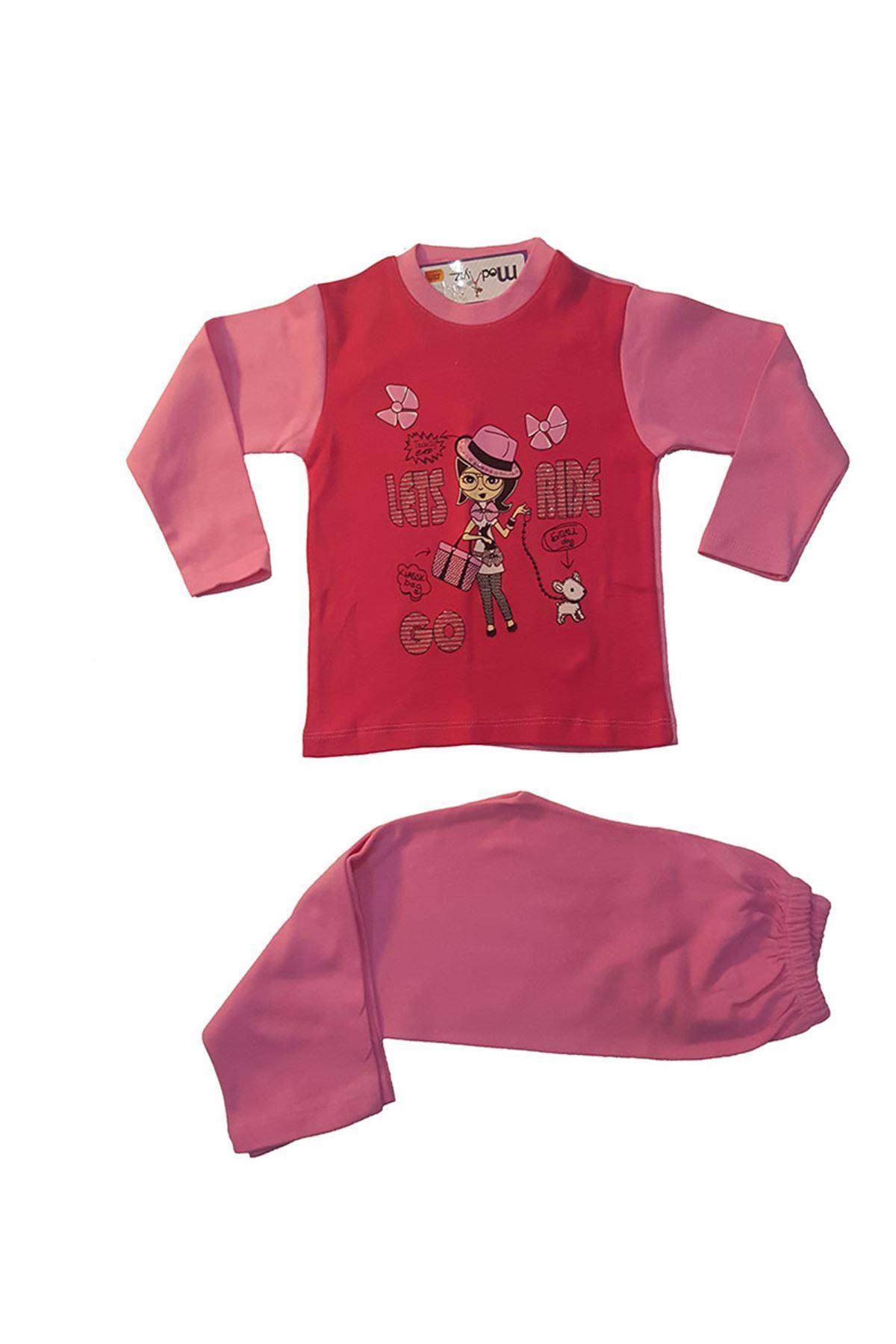 Baskılı Pijama Takımı 11B-153620