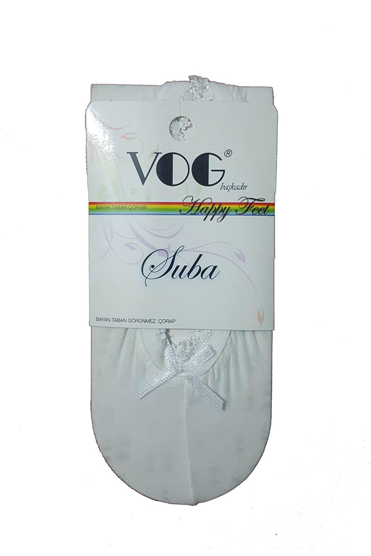 Beyaz Babet Çorap 11A-1446