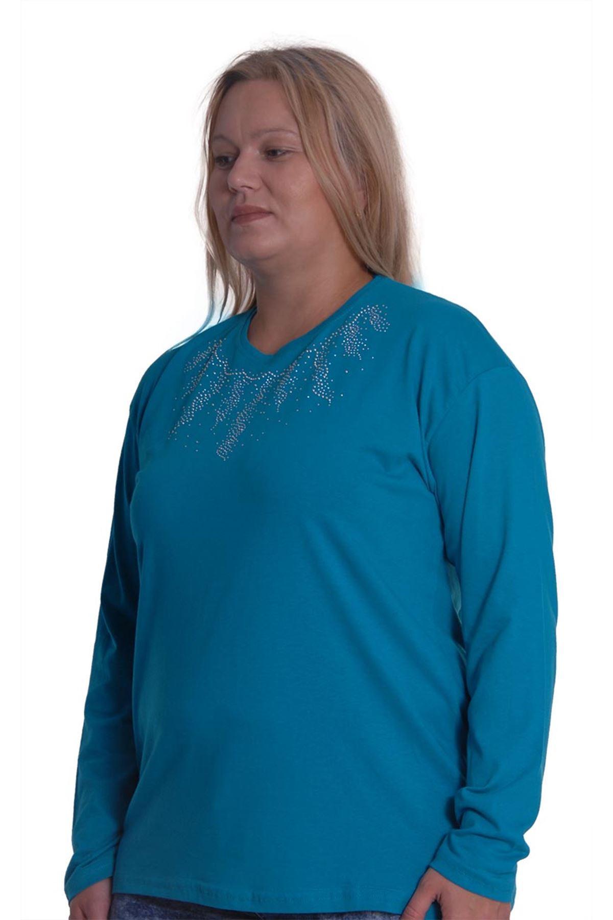 Büyük Beden Bluz 17E-0764