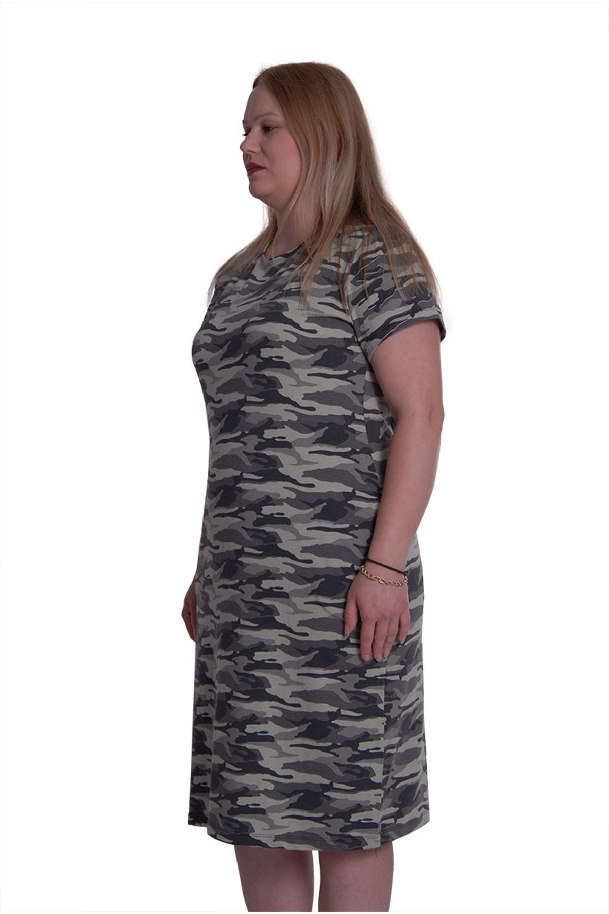 Cepli Kamuflaj Desen Elbise 2E-0084