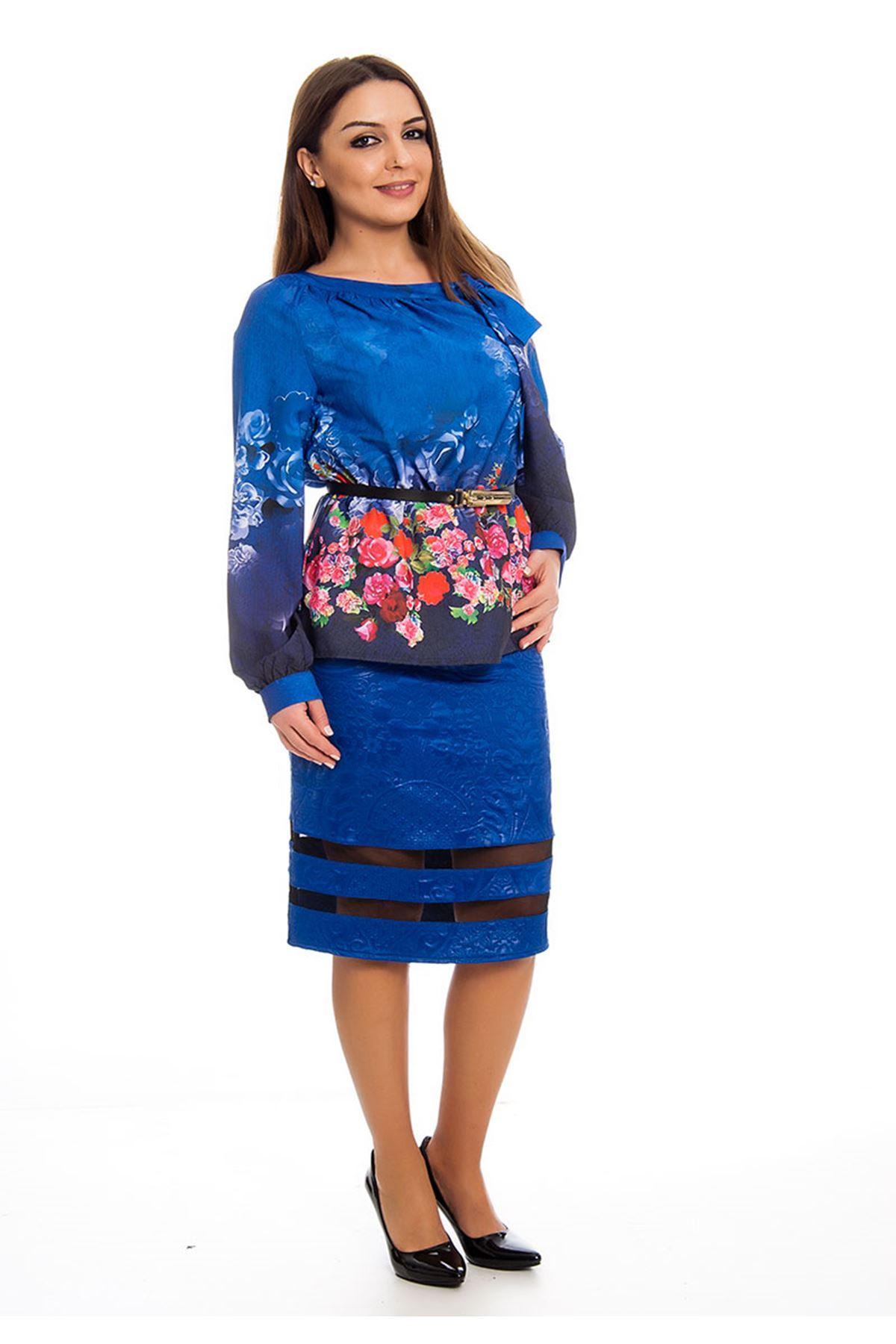 Etek Bluz İki Parça Kadın Elbise H9-124413