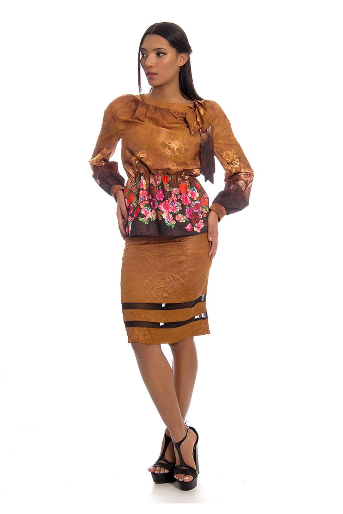Etek Bluz İki Parça Kadın Elbise H9-123948