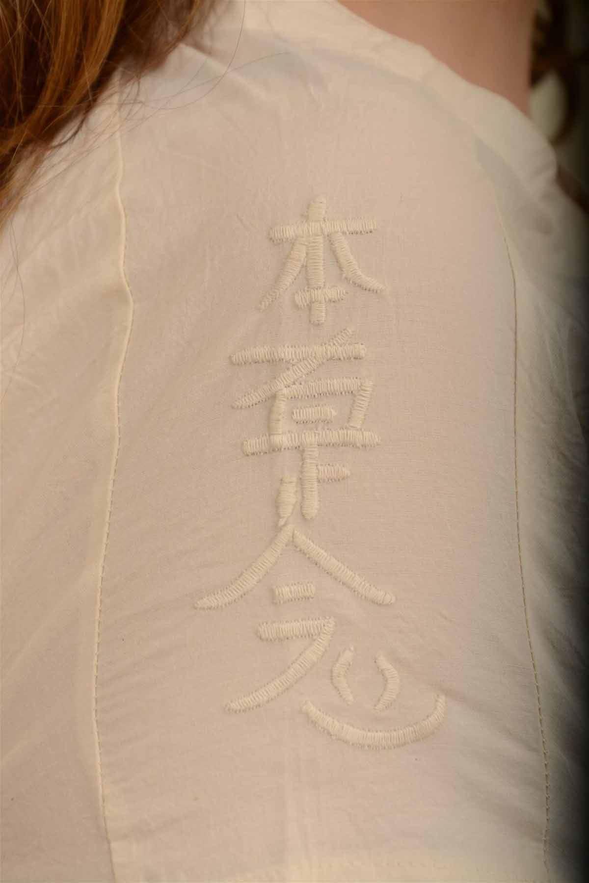 İnci - Pileli Kısa Kollu Bluz K1603