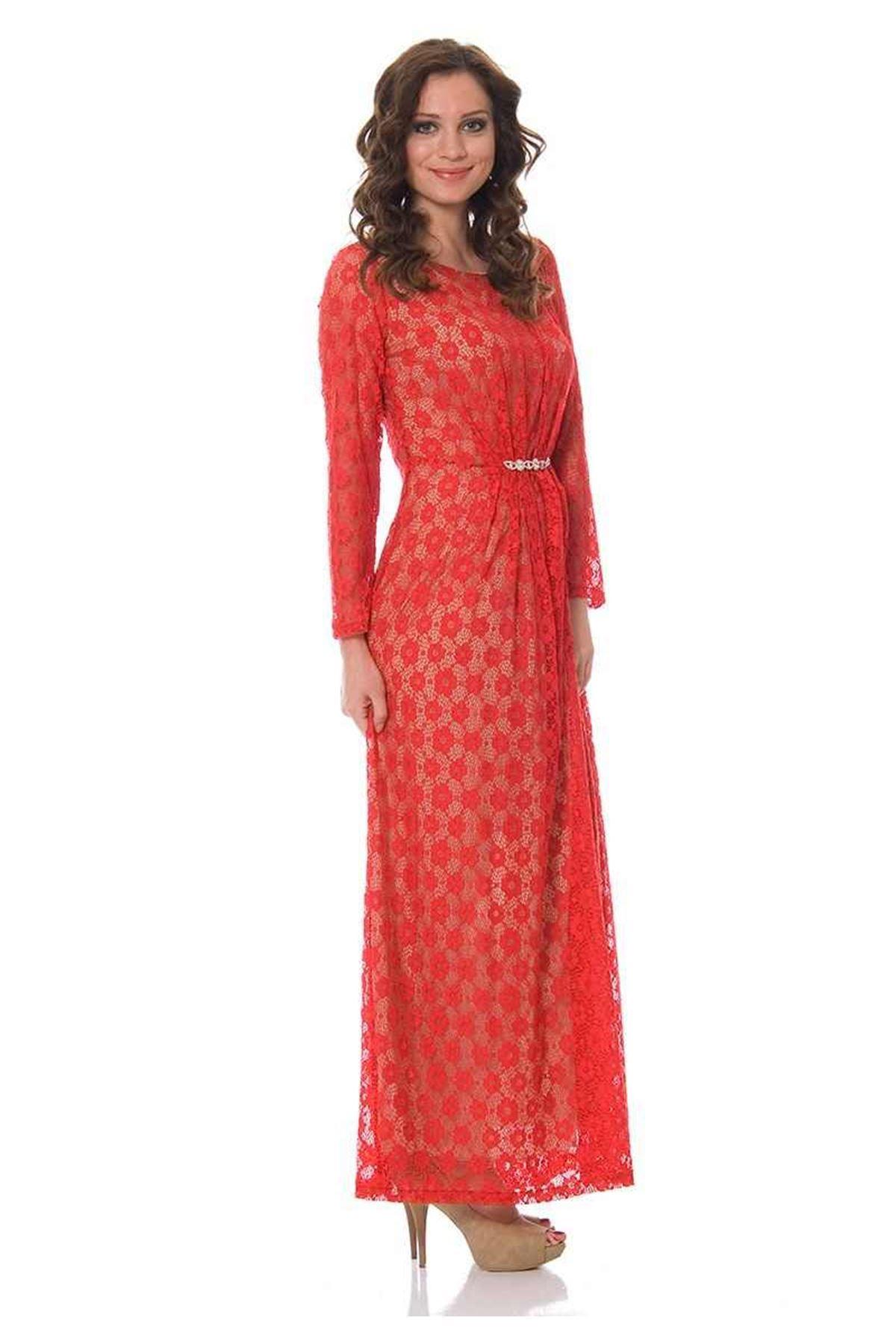 Kırmızı Dantelli J9-83502