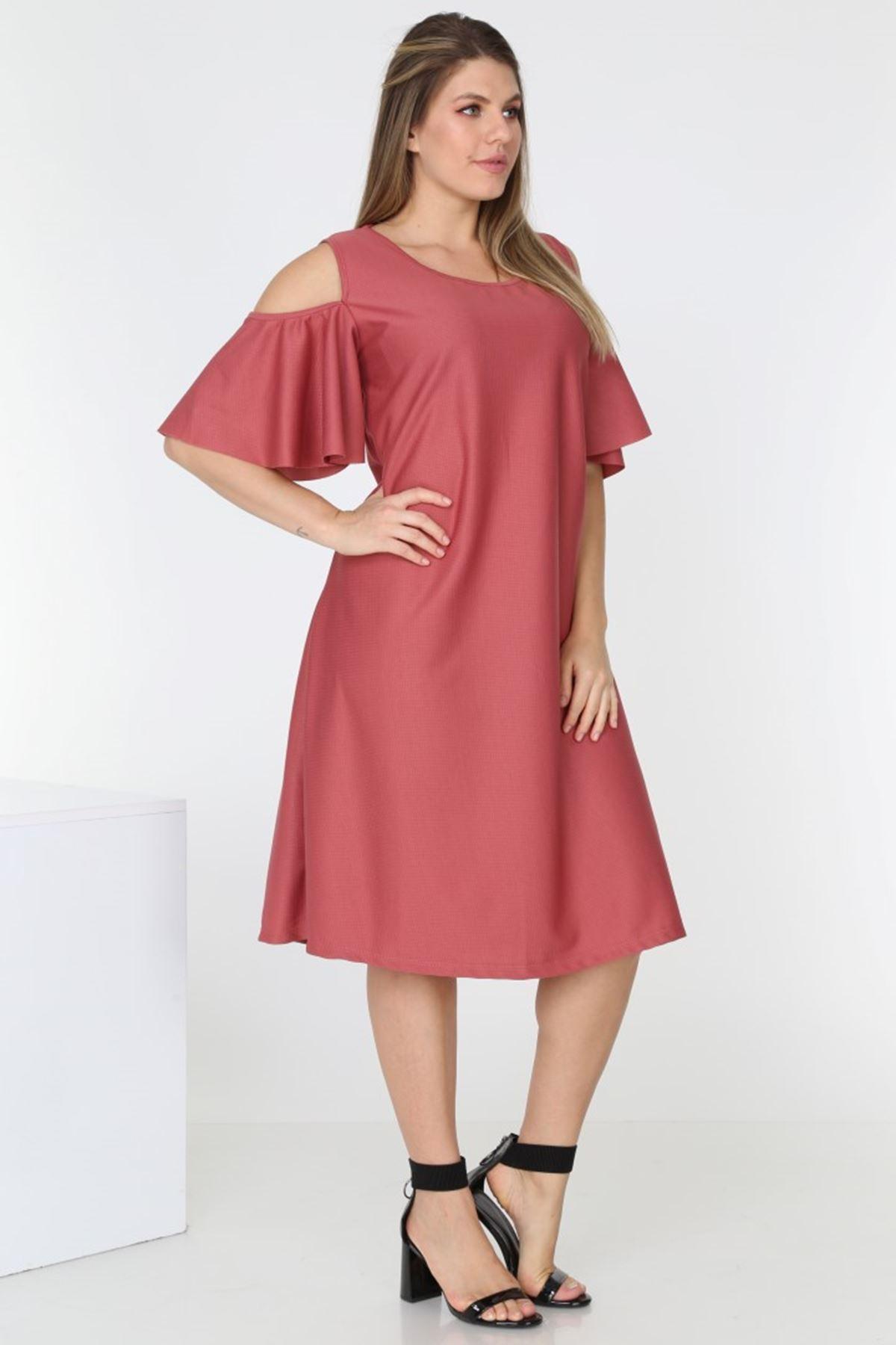 Kısakol Yazlık Elbise 1C-0540
