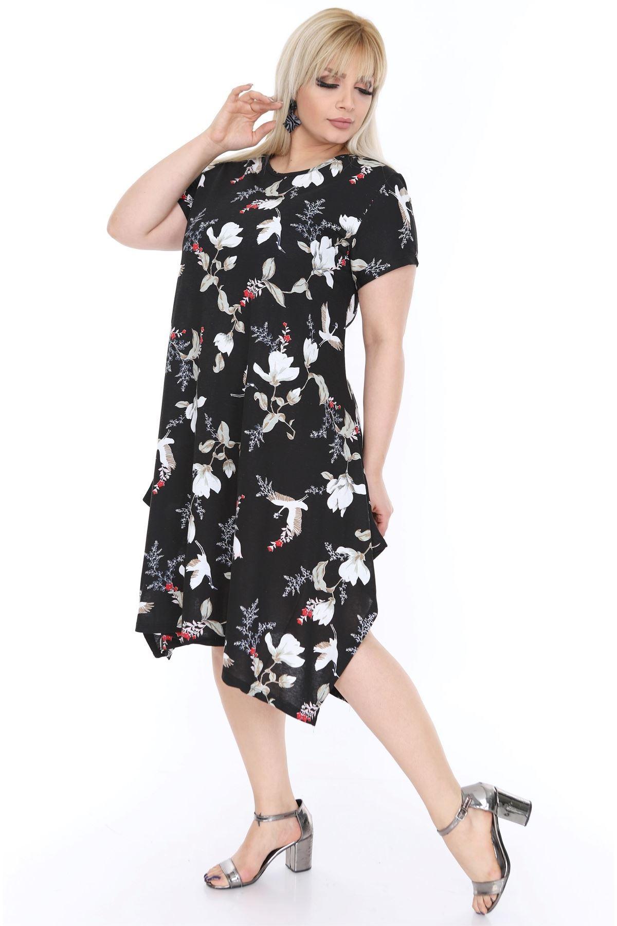Kuşlu Salaş Elbise 21B-68171