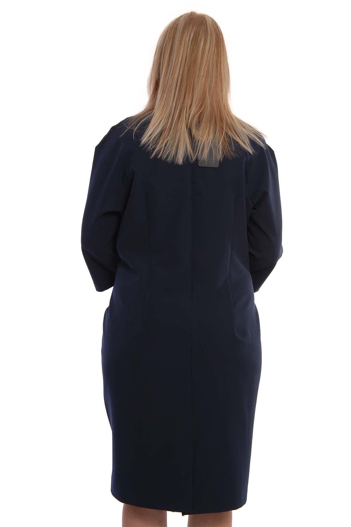 Lacivert Taşlı Elbise H9-75598