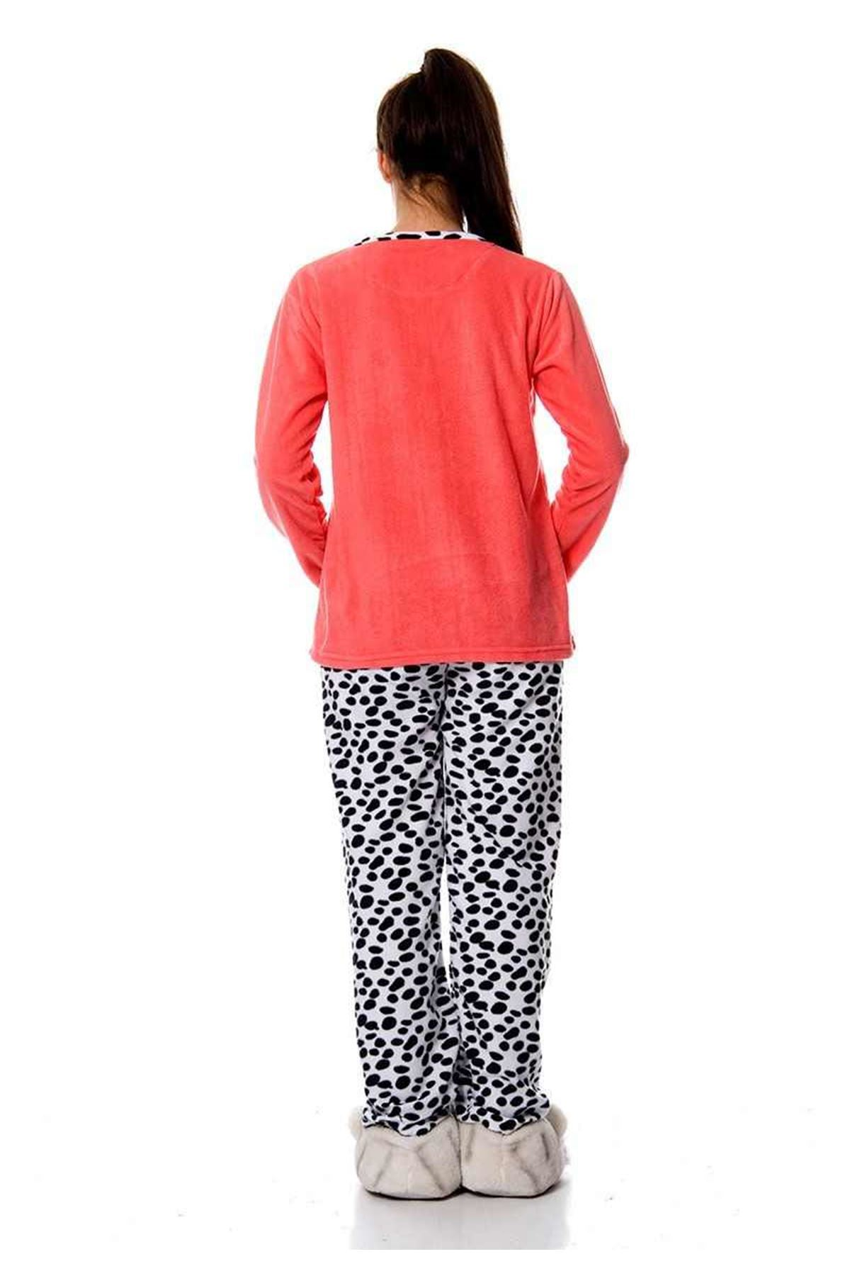 Mercan Polar Pijama Takımı 14C-98476