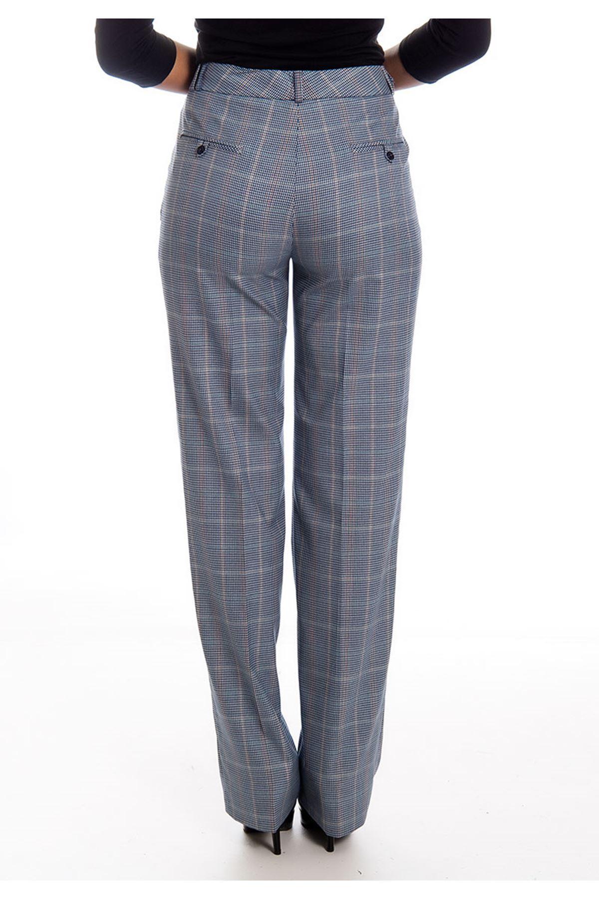 Pitikare Desenli Kadın Kumaş Pantolon G2-126160