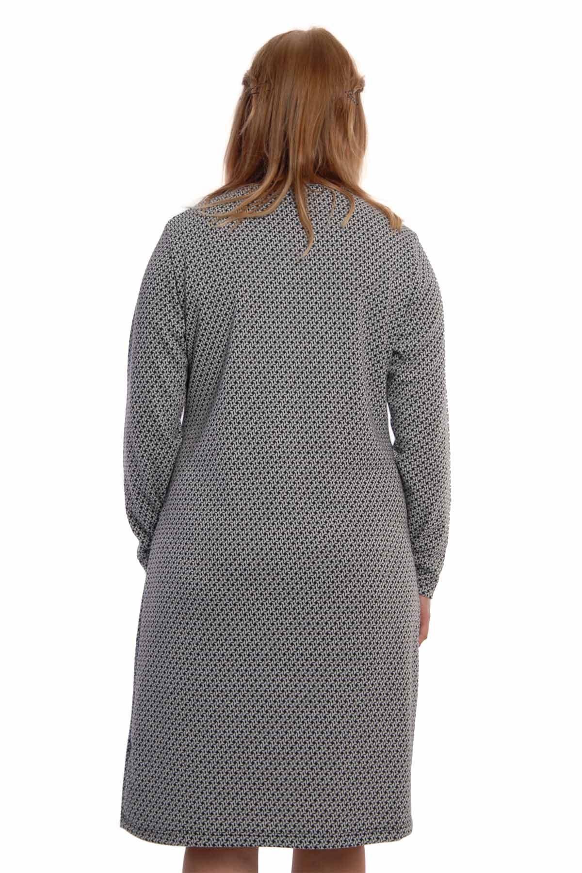 Rahat Kesim Elbise 6B-65421