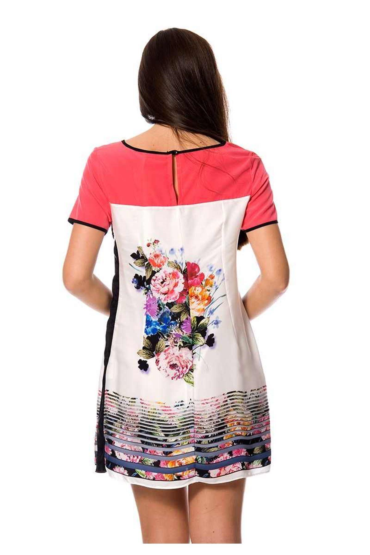 Renkli Çiçek Desenli G5-95333