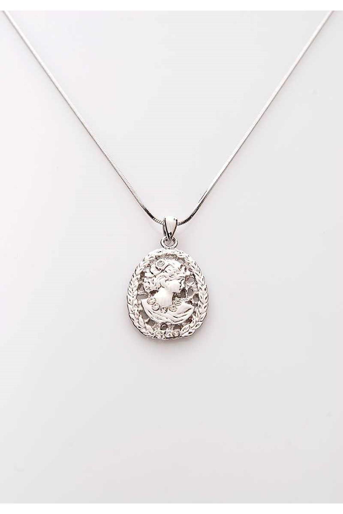 Silver Kolye 9Ç-107875