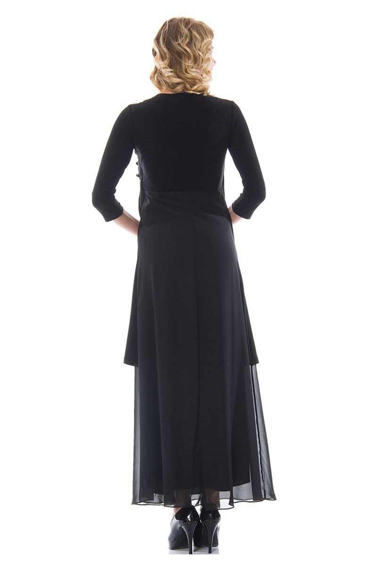 Taşlı Siyah H1-89804