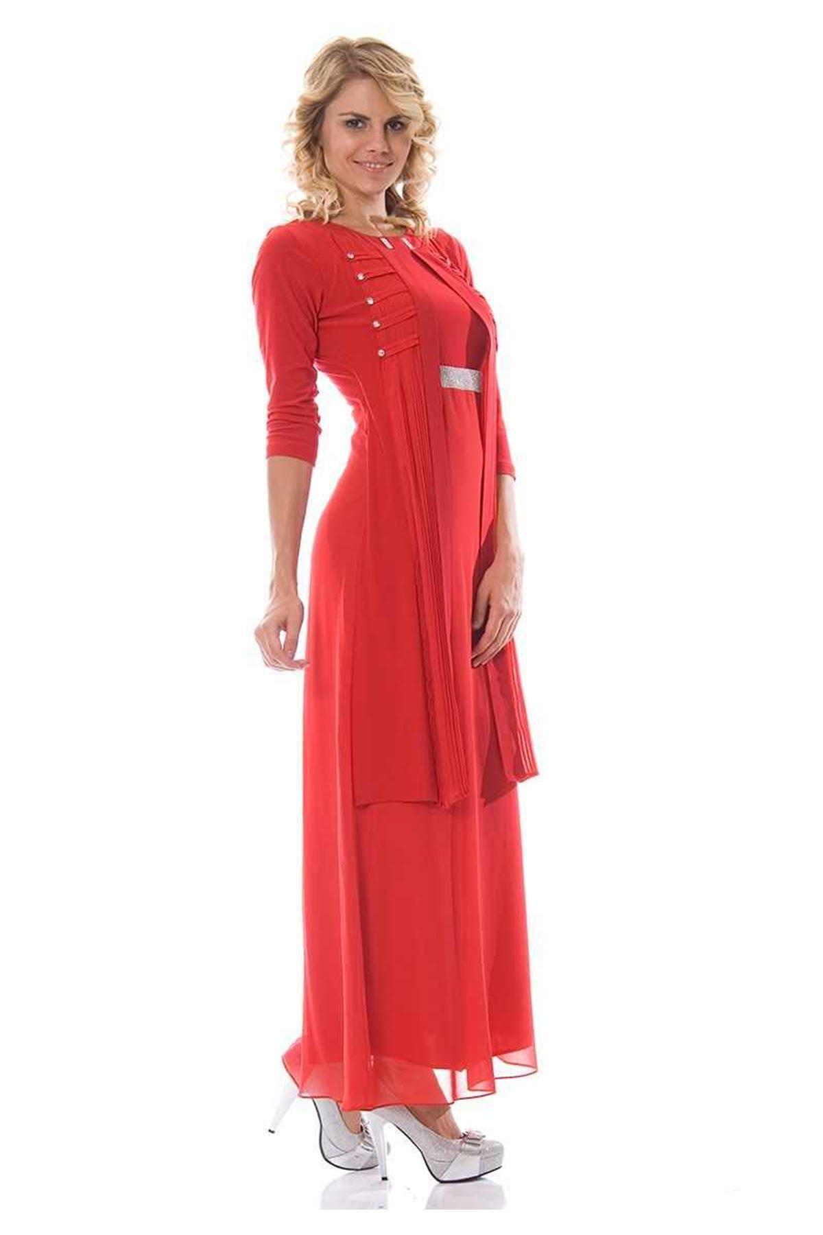 Taşlı Kırmızı H1-89817