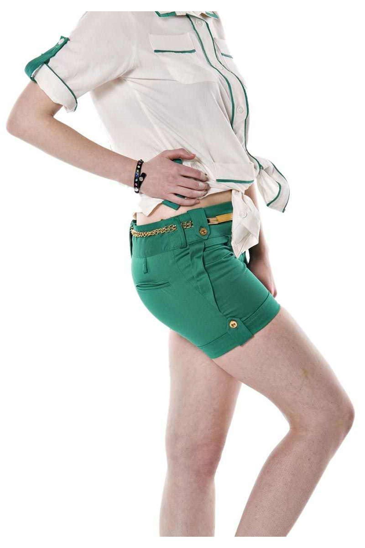 Yeşil Şort I4-67351
