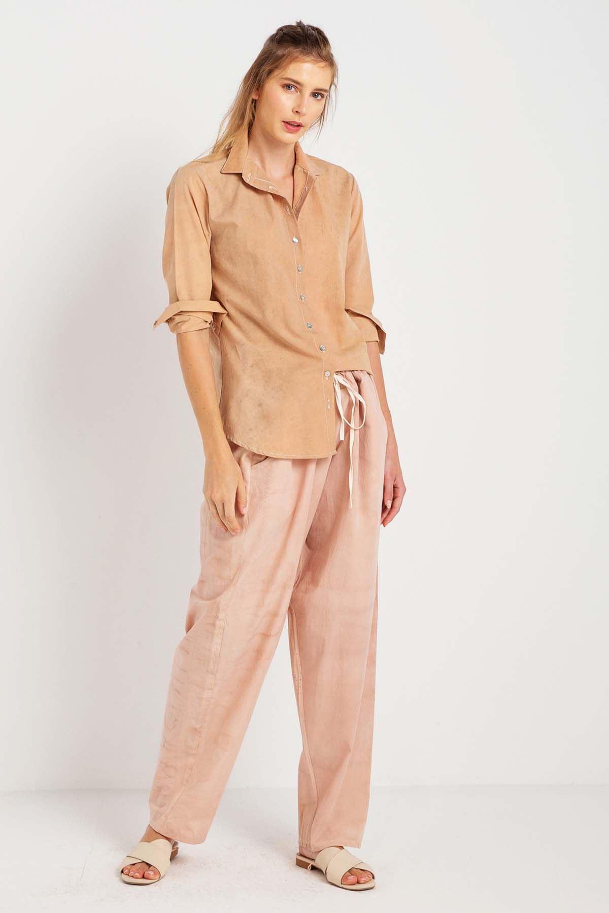 Zarif - Uzun Kollu Kadın Gömlek K0713