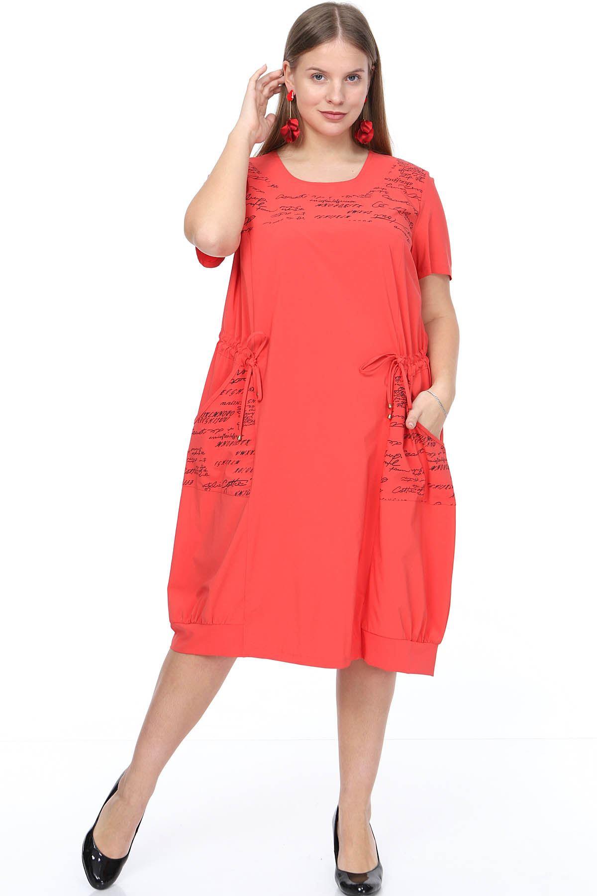 Bağcıklı Cepli Elbise 7C-0911