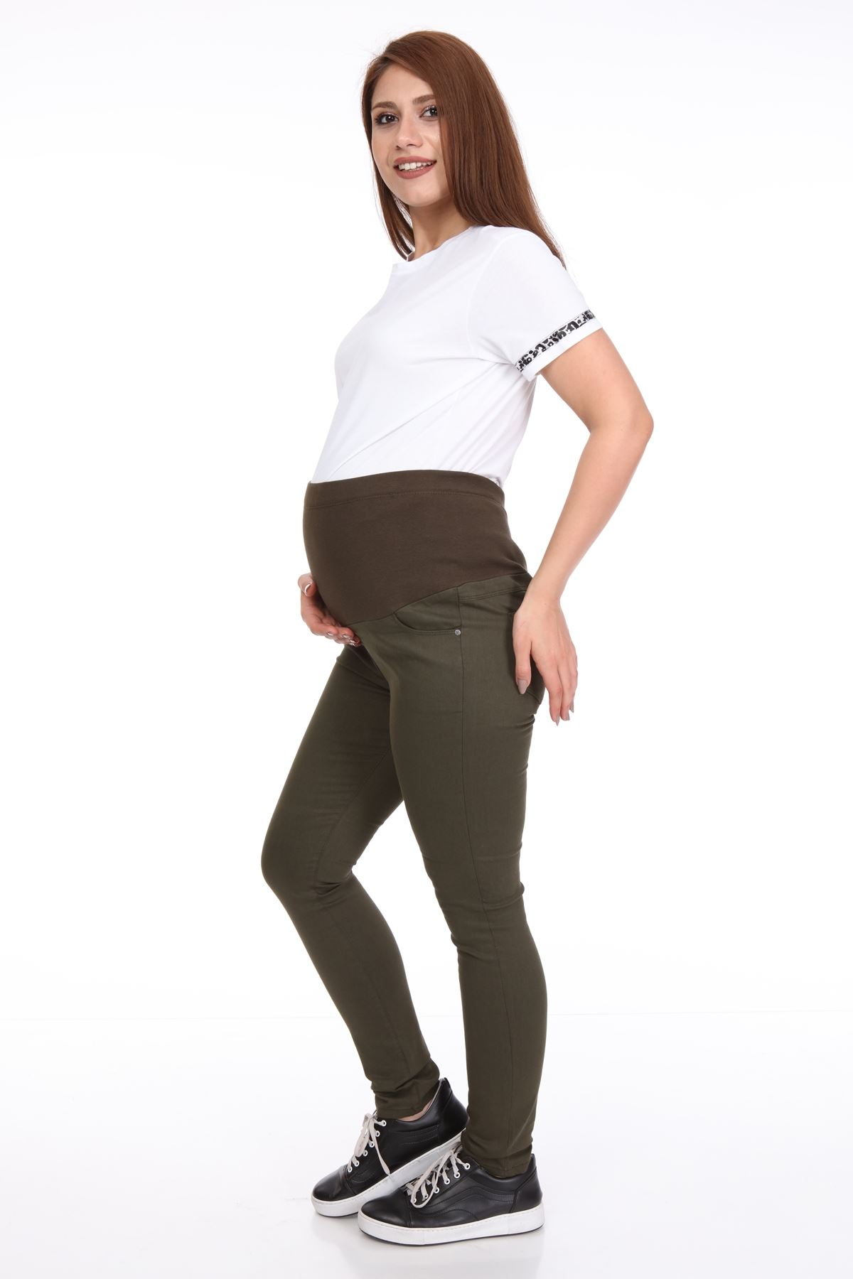 Yeşil Hamile Pantolonu 7B-1099