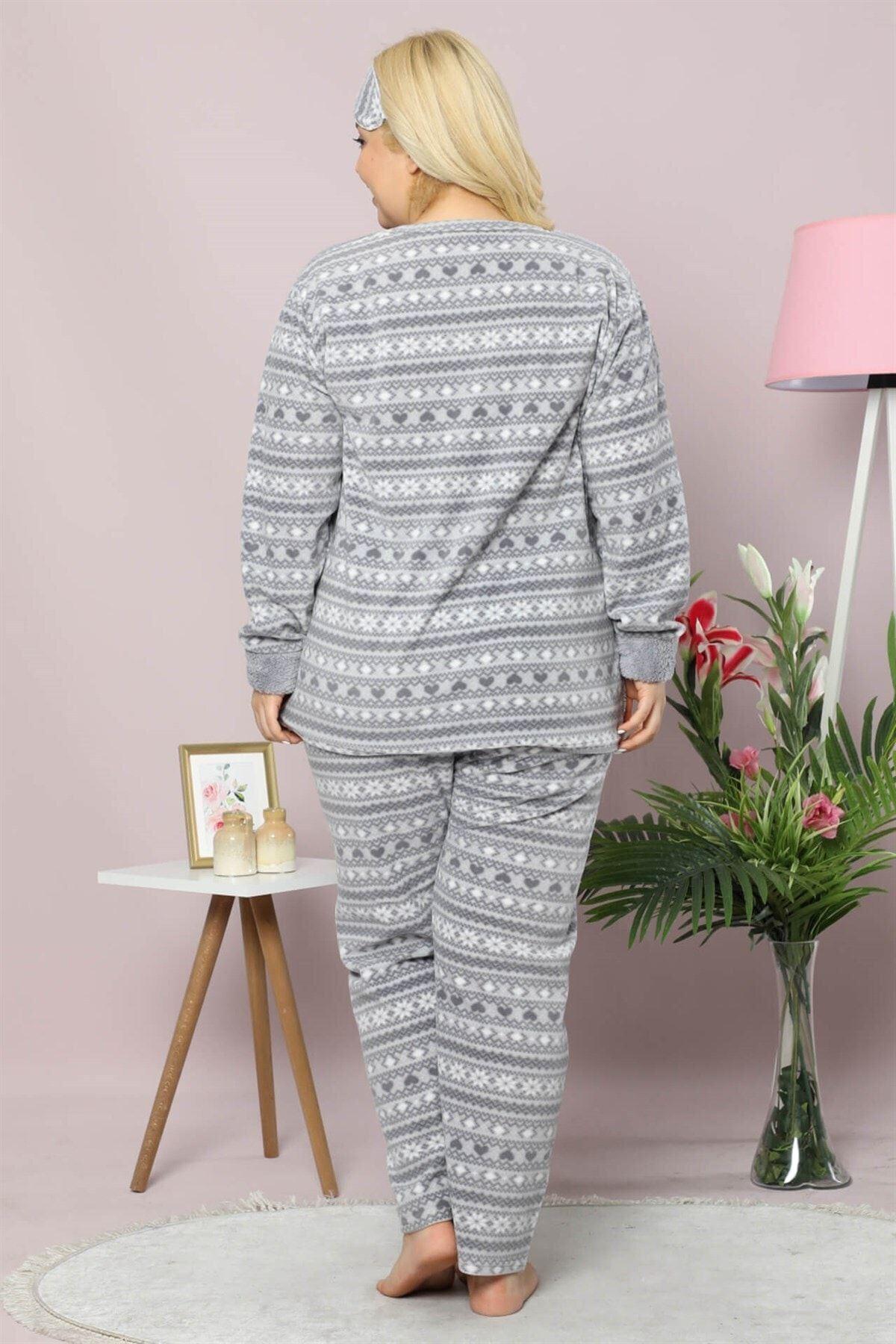 Welsoft Polar Pijama Takımı 32C-9017G