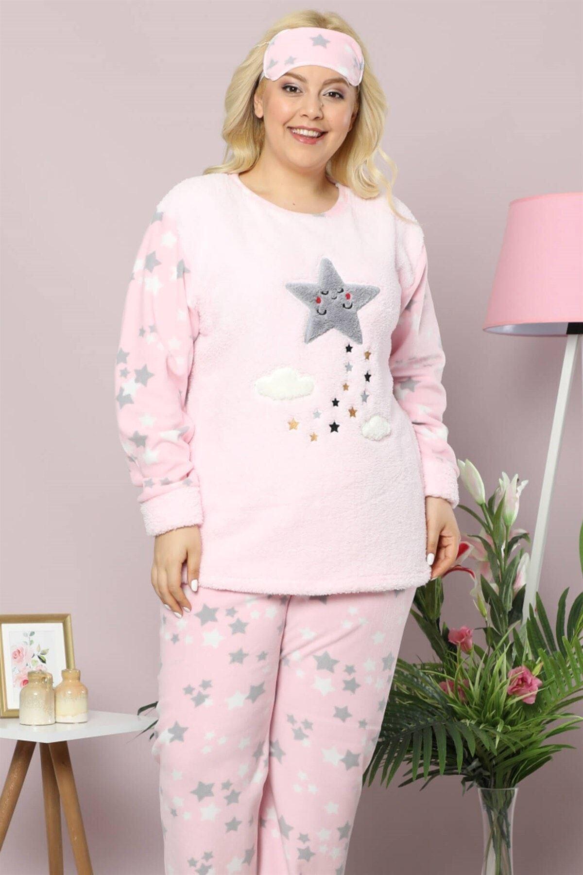 Welsoft Polar Pijama Takımı 32D-9014