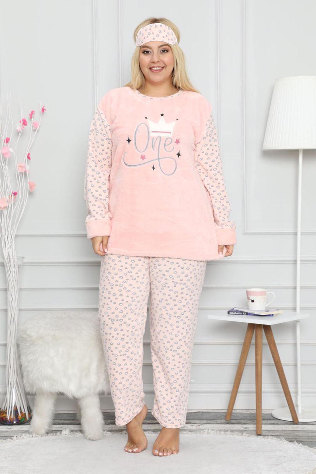 Welsoft Pembe Pijama Takımı 32E-99057P