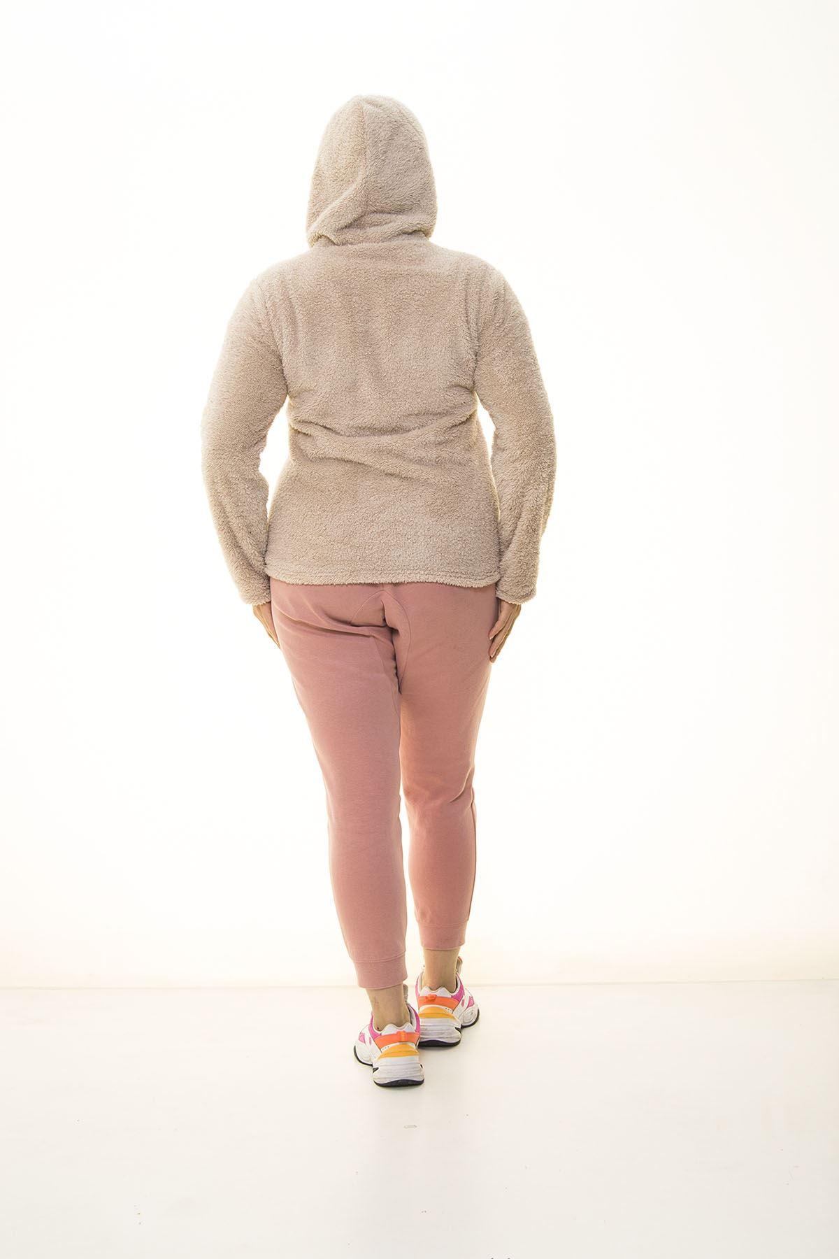 Peluş Cepli Sweatshirt 30Y-1405