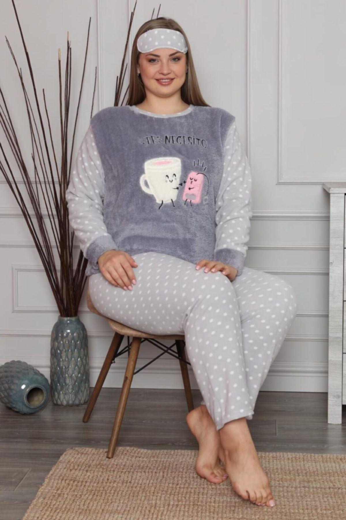 Welsoft Necesito Pijama Takımı 32D-1451