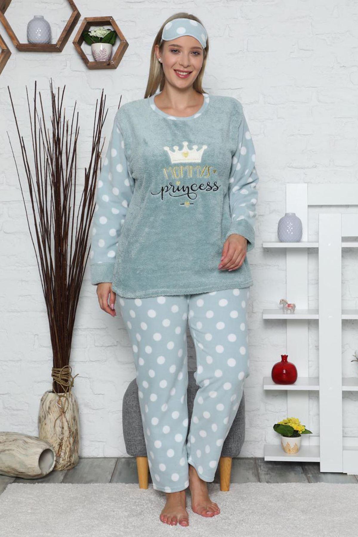 Büyük Beden Pijama Takımı 32C-1468