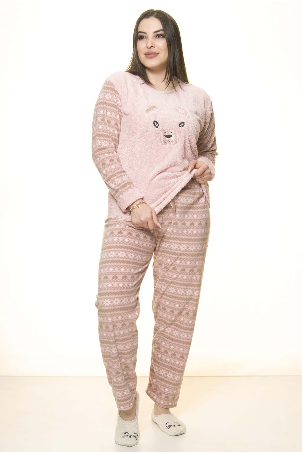 Polar Wersoft  Kışlık Pijama Takımı 32C-1518