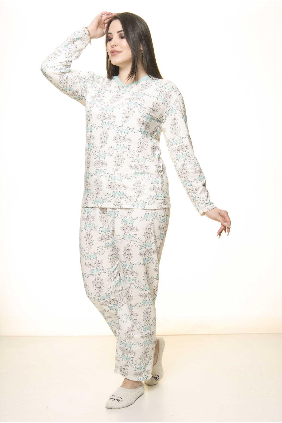 Geniş Kesim Pijama Takımı 31A-1564