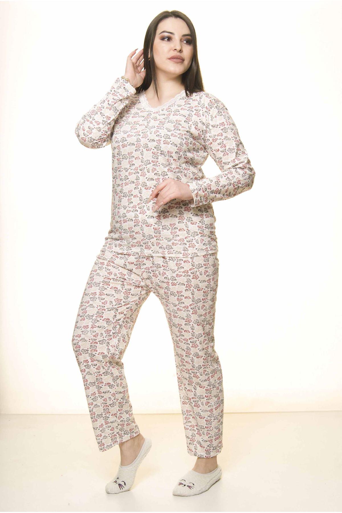 Geniş Kesim Pijama Takımı 31A-1562