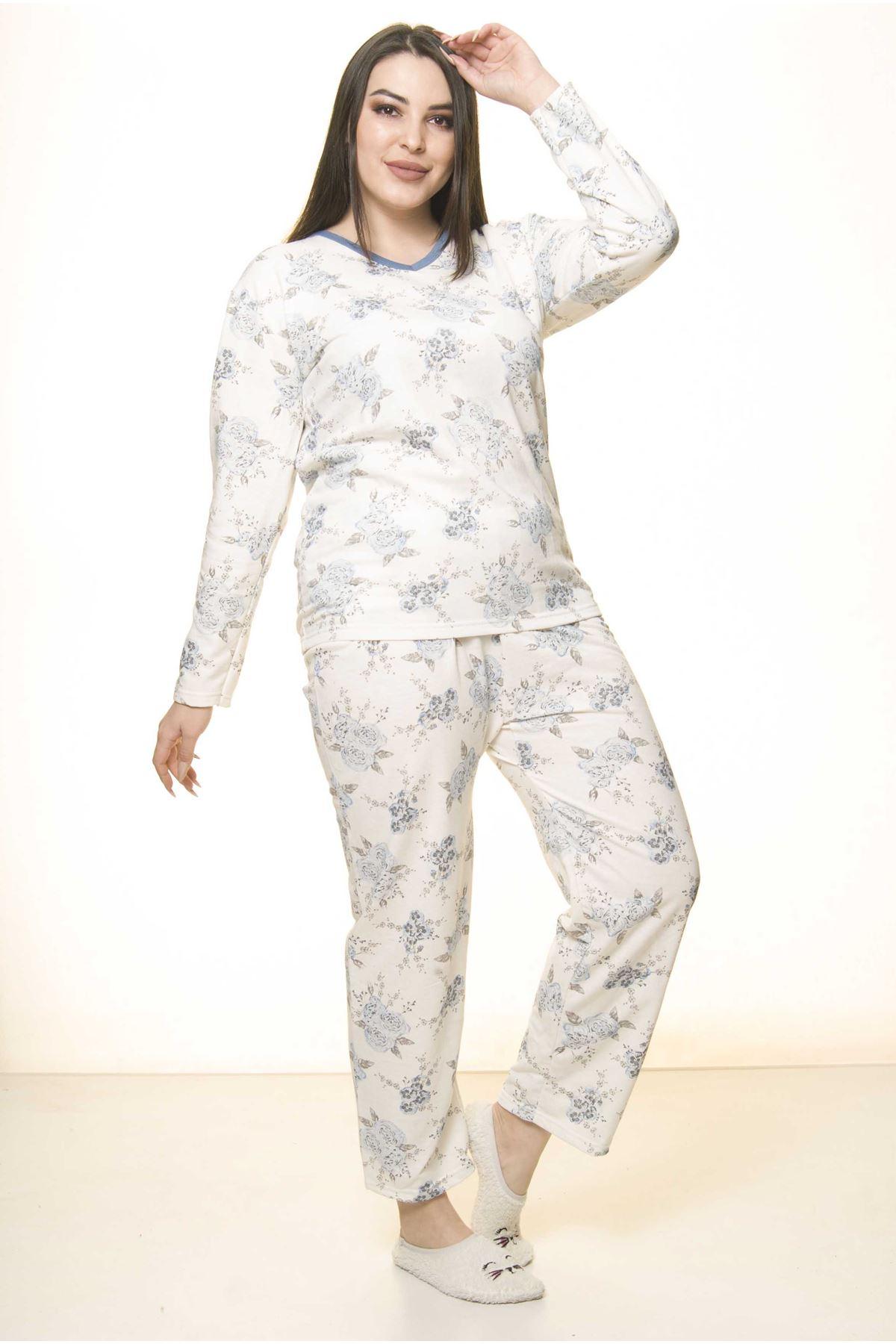 Geniş Kesim Pijama Takımı 31A-1555