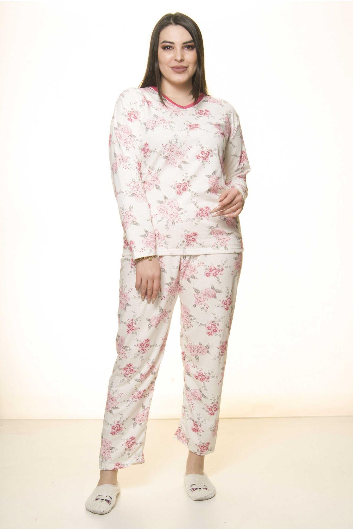 Geniş Kesim Pijama Takımı 31A-1553