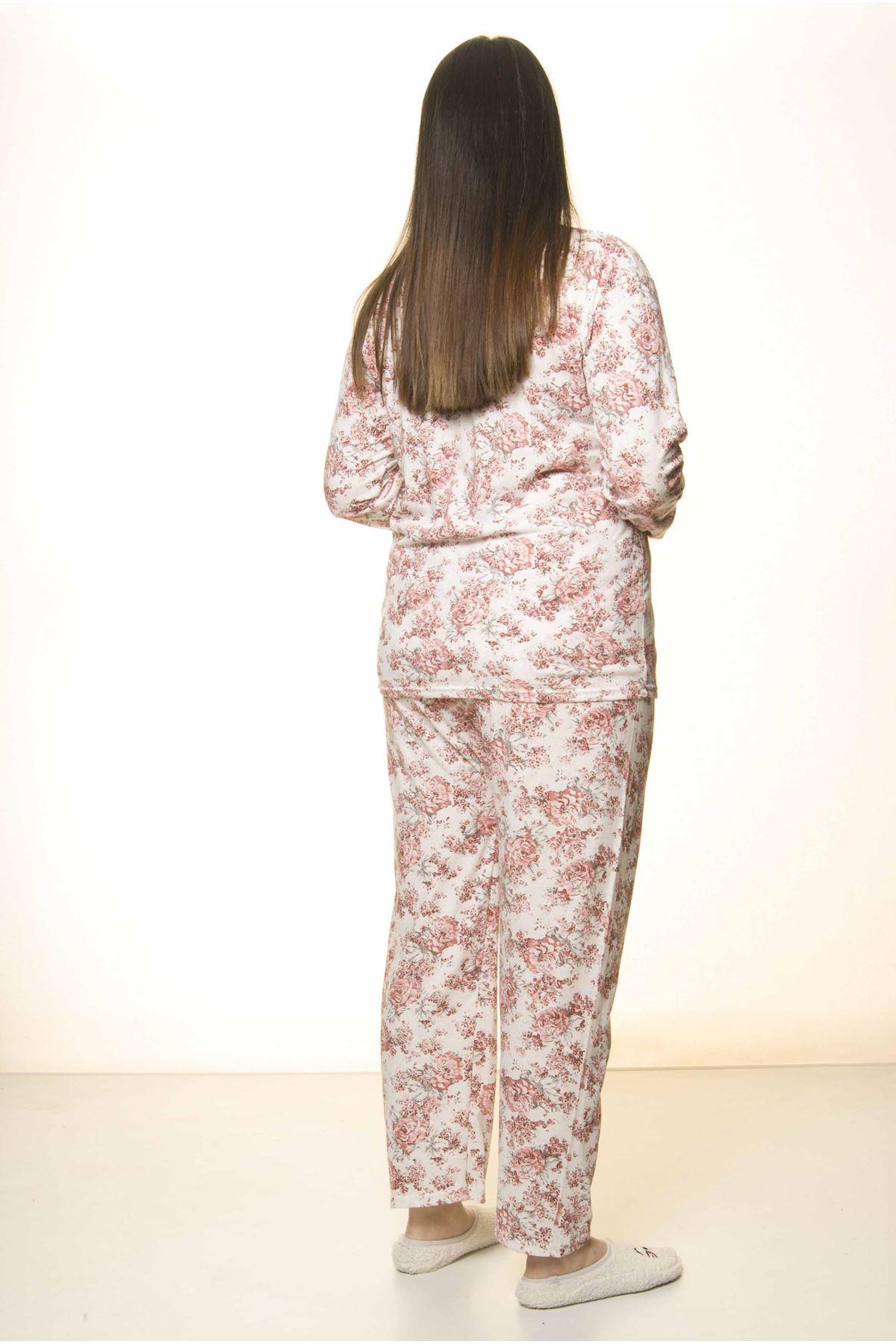 Geniş Kesim Pijama Takımı 31A-1556